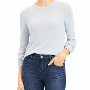 Theory Feather 100% Cashmere Crewneck Sweater BNWT